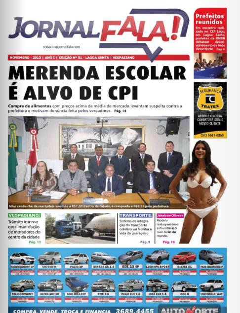 Jornal Fala - Edição 01