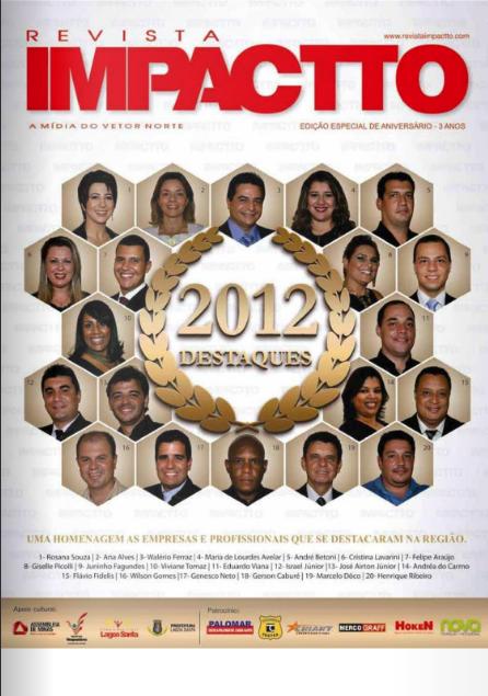 Destaques do ano - Ano 2012