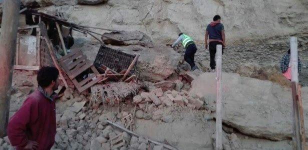 Governo peruano corrige informação e diz que 1 pessoa morreu devido a terremoto