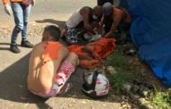 Mototaxista ferido em acidente segue internado; saga para conseguir ambulância durou 2h
