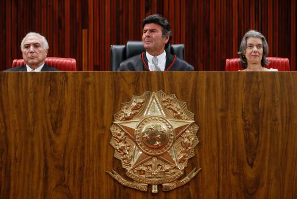 Fux diz que TSE será irredutível na aplicação da Lei da Ficha Limpa