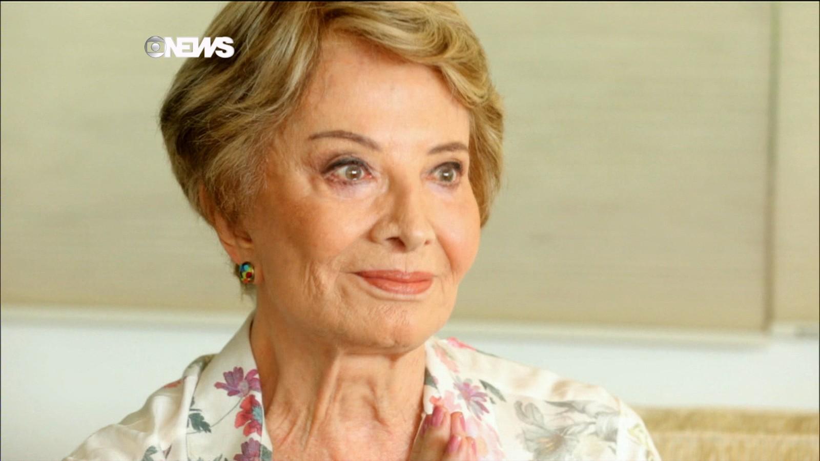 Atriz Glória Menezes está internada em hospital no Rio
