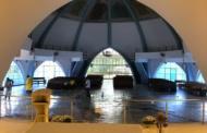 Paróquia Nossa Senhora da Saúde, matriz de Lagoa Santa, passa por limpeza nesta sexta