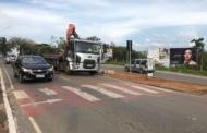 Continuam as obras na Avenida João Daher em Lagoa Santa