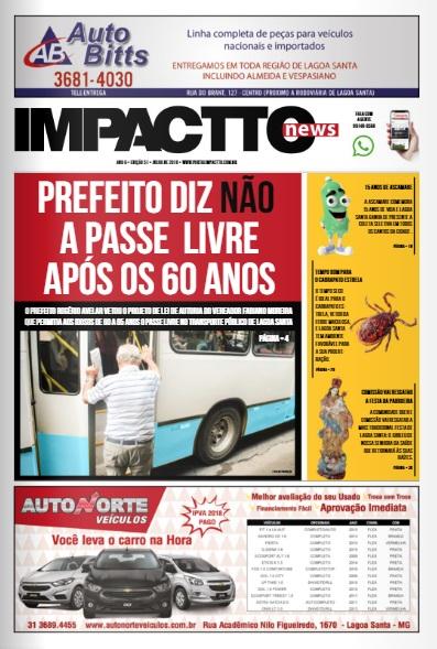 Impactto News – Ed. 51 | Julho/2018