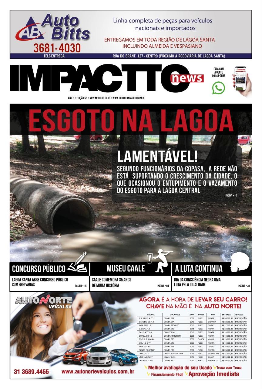 Impactto News – Ed. 55 | Novembro/2018