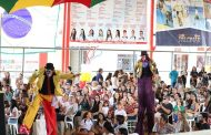 Palomar 35 anos: apresentação circense da Trupe Balão Mágico anima os presentes