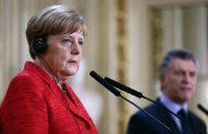 Merkel vê dificuldade em acordo UE-Mercosul com novo governo do Brasil