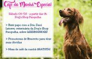Dog's Shop oferece bate-papo sobre leishmaniose com café da manhã gratuito