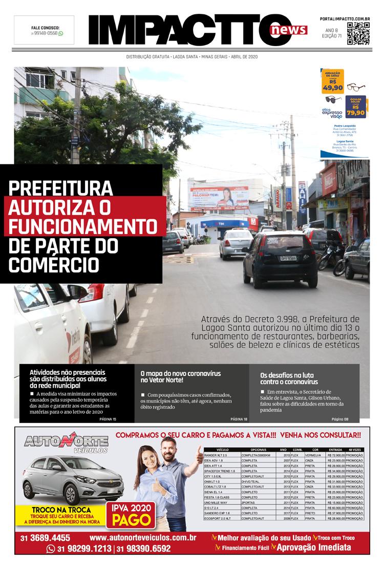 Edição 71 - Jornal Impactto News!