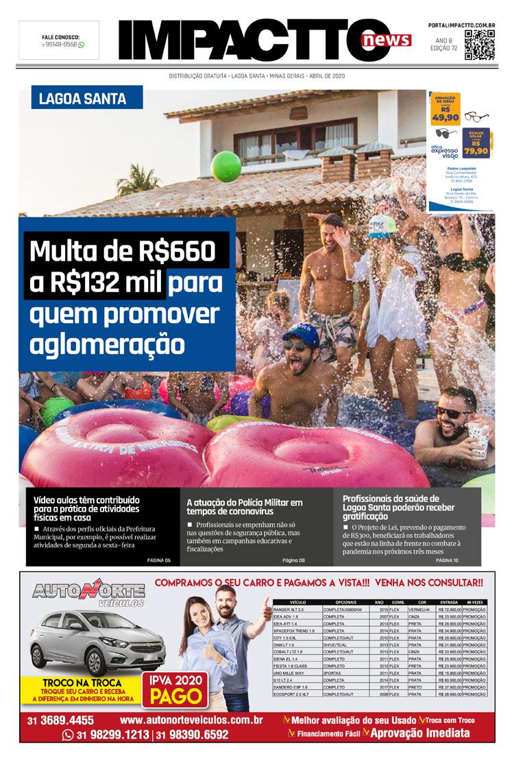 Edição 72 - Jornal Impactto News!