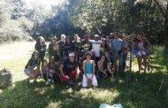 Ação realiza plantio de árvores e coleta de lixo em Lagoa Santa