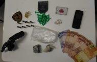 Presos dois homens suspeitos de envolvimento com o tráfico de drogas em São José de Almeida