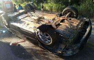 Idoso morre após capotar carro em Santa Luzia