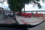 Prefeitura e bares fazem acordo sobre mesas e cadeiras no passeio da orla da Lagoa Central