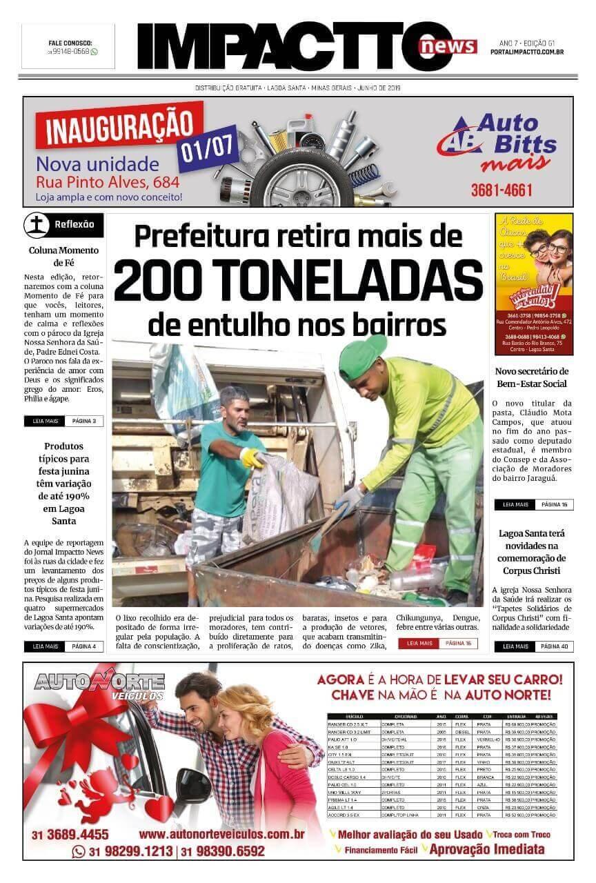 Impactto News, edição 61