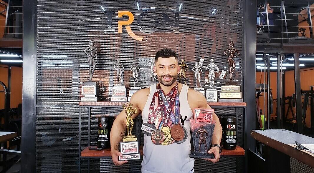 Fisiculturista de Lagoa Santa é campeão do Campeonato Mineiro Estreantes 2019 de Fisiculturismo