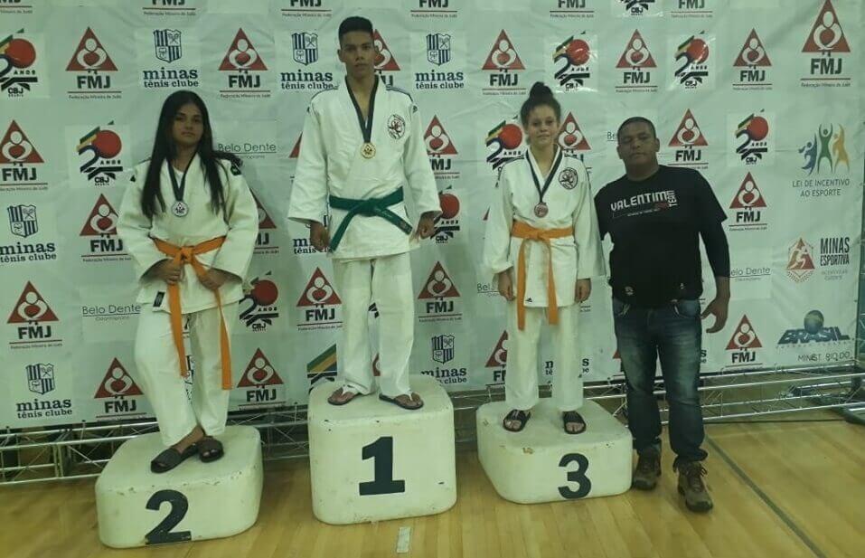 Judoca de Lagoa Santa é campeão mineiro de judô