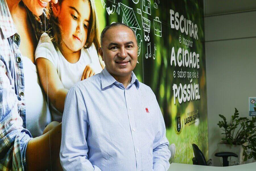 Secretário de Bem Estar Social de Lagoa Santa, Cláudio Mota Campos concede entrevista ao Impactto News