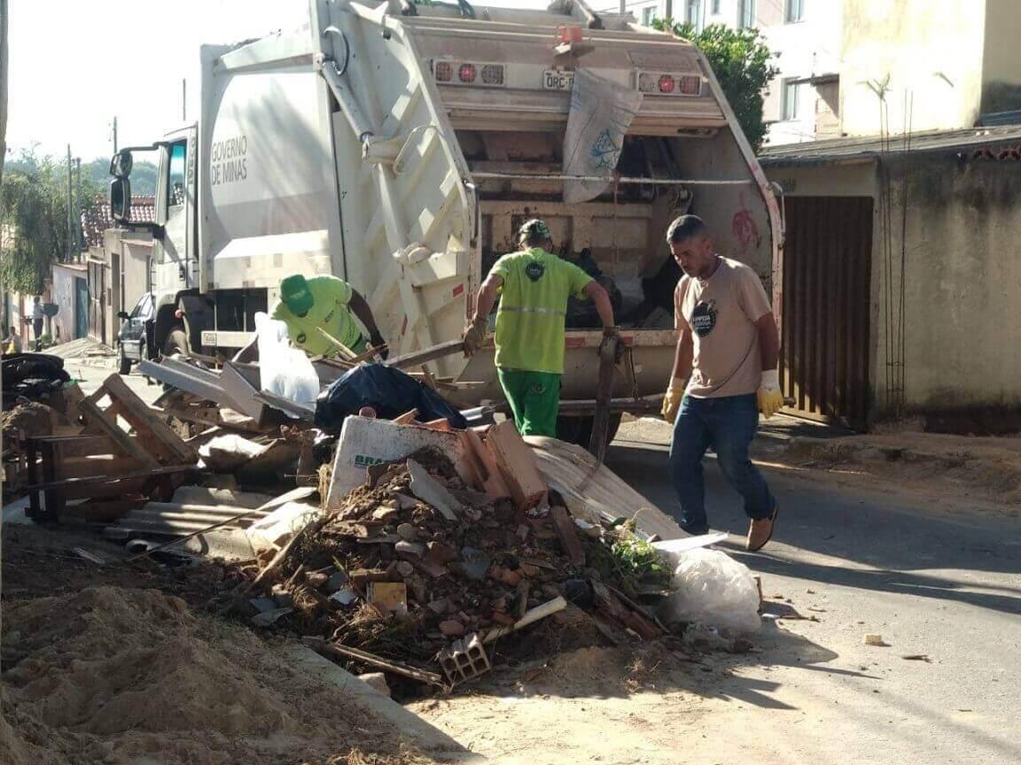 Prefeitura de Lagoa Santa recolhe mais de 200 toneladas de lixo em mutirões de limpeza