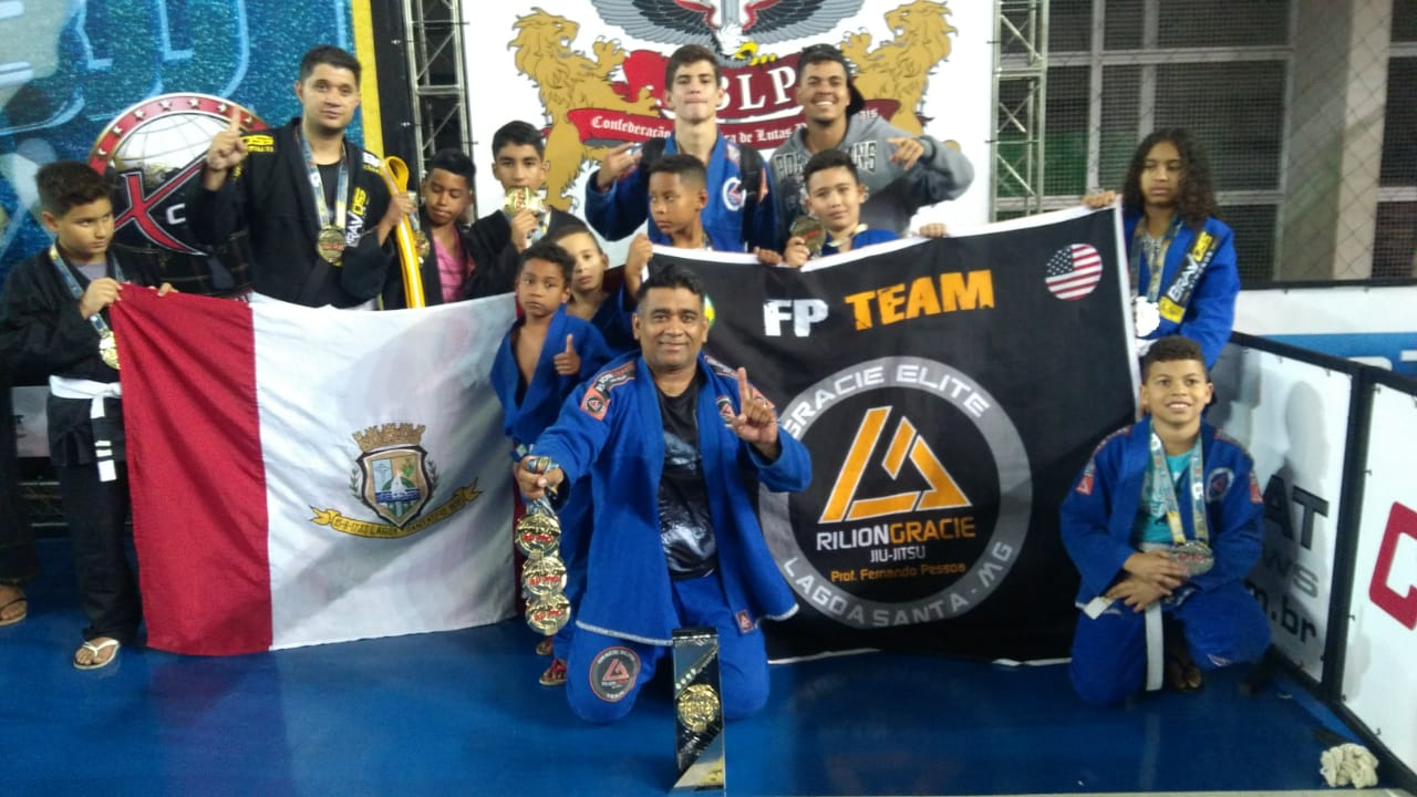 Academia de Lagoa Santa, Rilion Gracie é campeã em torneio internacional de jiu-jitsu