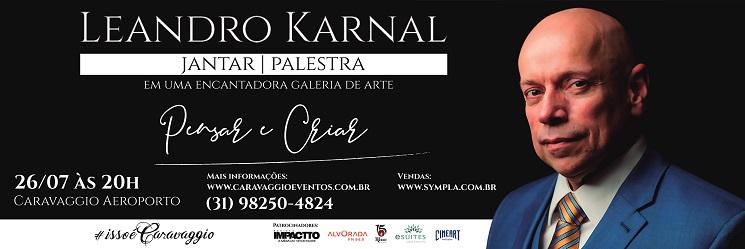 Lagoa Santa recebe o historiador Leandro Karnal para palestra no dia 26