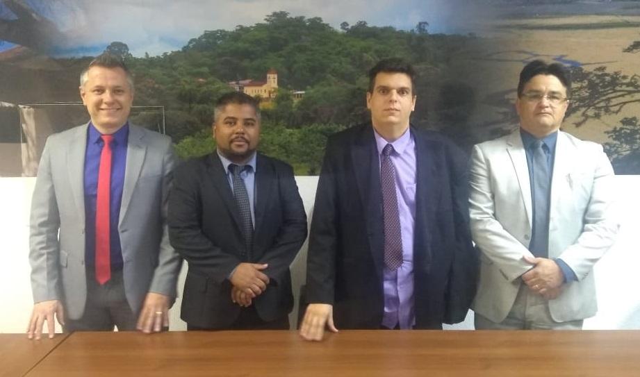 Pelo terceiro ano consecutivo, Leandro Cândido é eleito presidente da Câmara de Lagoa Santa