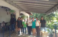 Paula Sperling entrega doações para Nossa Vivenda em Lagoa Santa