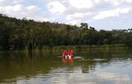 Homem está desaparecido após nadar em lagoa de Santa Luzia