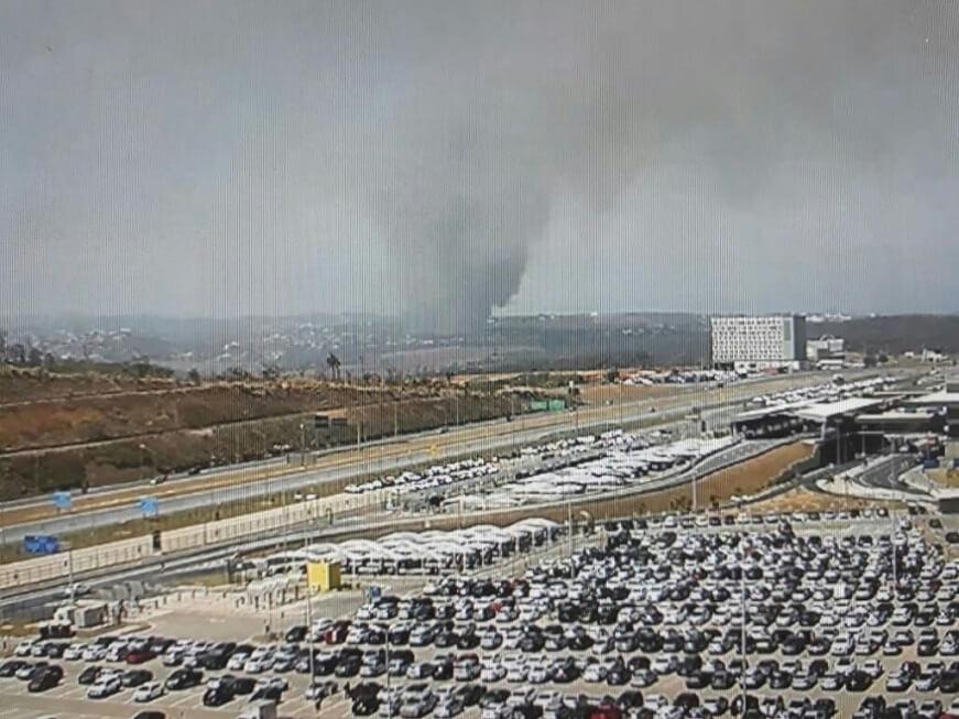 Incêndio atinge mata do Parque de Material Aeronáutico de Lagoa Santa; veja imagens