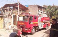 Defesa Civil é acionada para vistoriar casas atingidas por incêndio no Santos Dumont, em Lagoa Santa