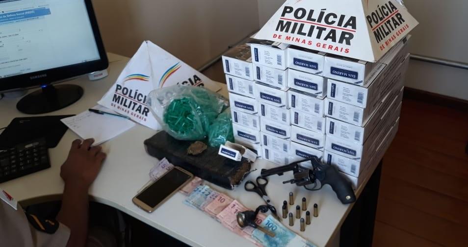 Quatro pressoas são presas em operação da Polícia Militar em Jaboticatubas
