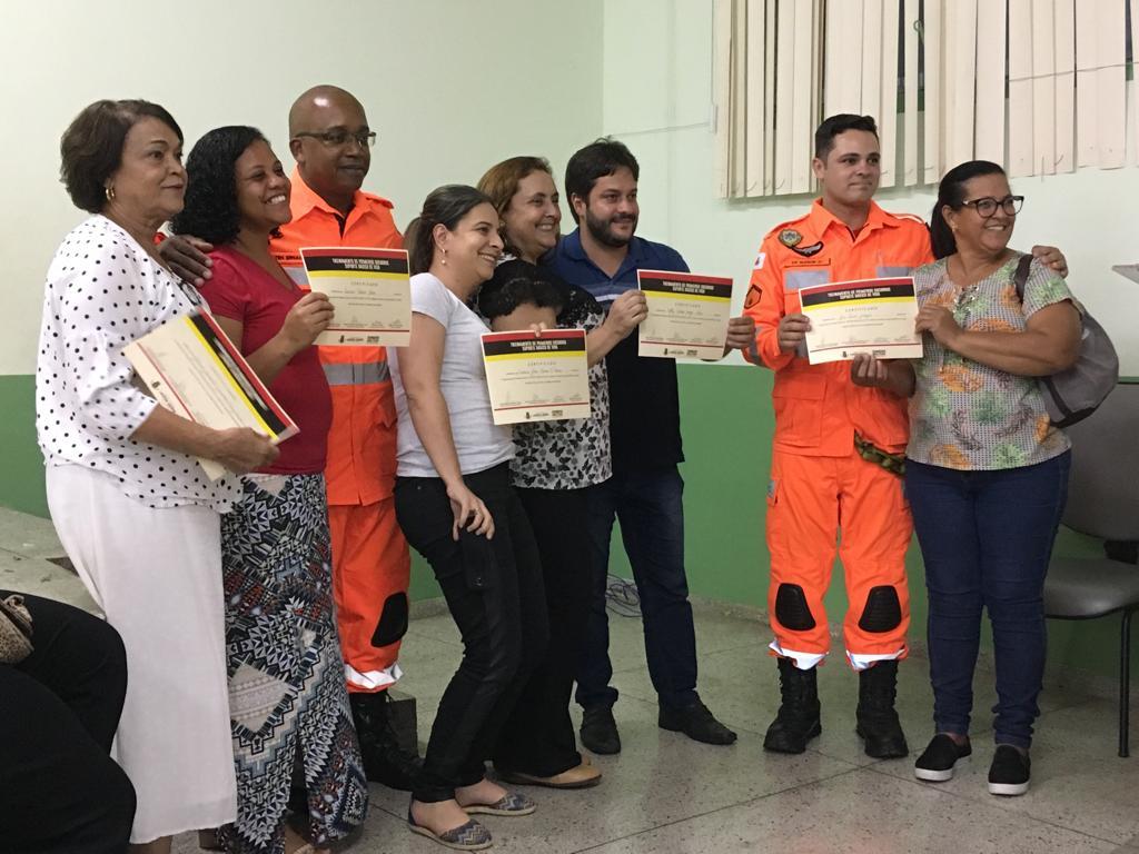 Educadores municipais são certificados em curso de primeiros socorros