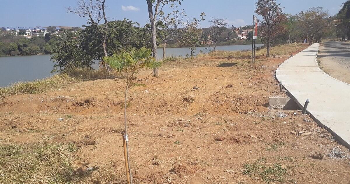 Processo de urbanização pode causar assoreamento na Lagoa Olhos D'Água