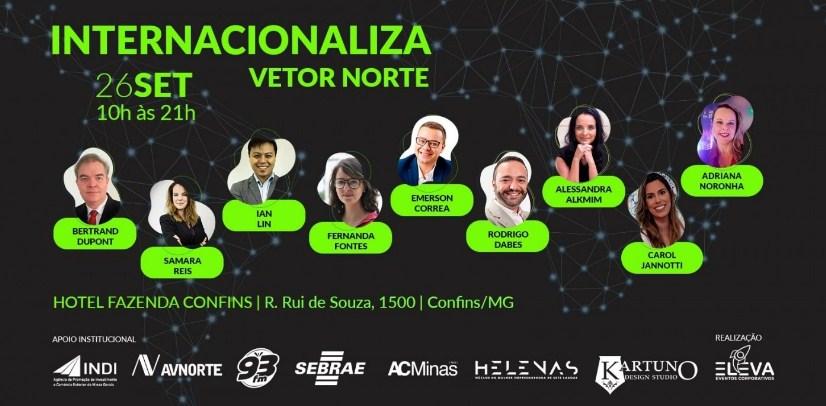 Internacionaliza Vetor Norte: evento quer turbinar negócios na região