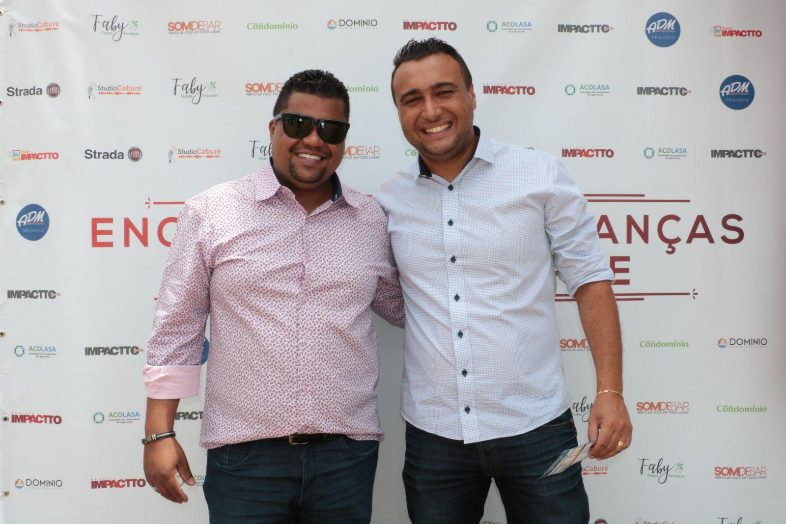 Ruan e Demétrius recebem empresários, em evento da ACOLASA, na sede do Grupo Impactto