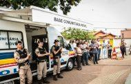 Polícia Militar instala Base Comunitária Móvel em Confins
