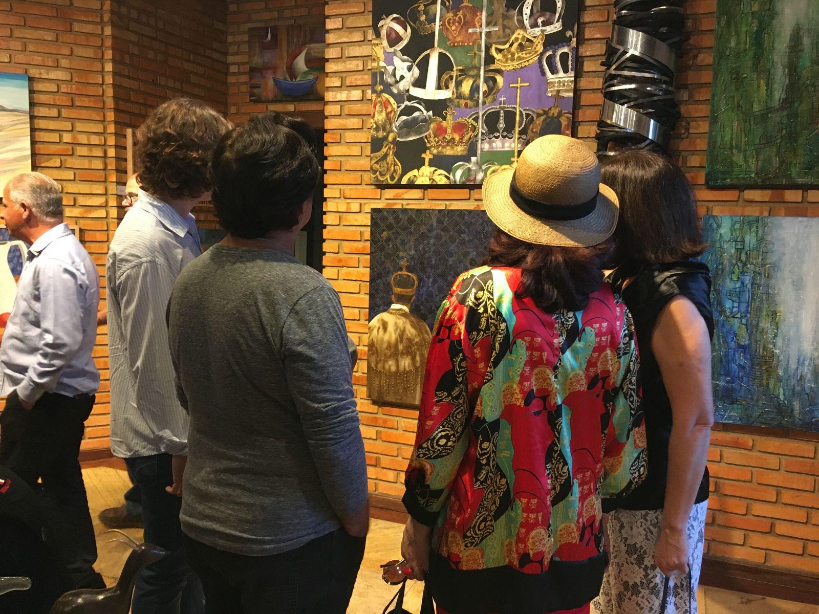 Expor Recanto do Poeta pode ser visitada até 31 de outubro