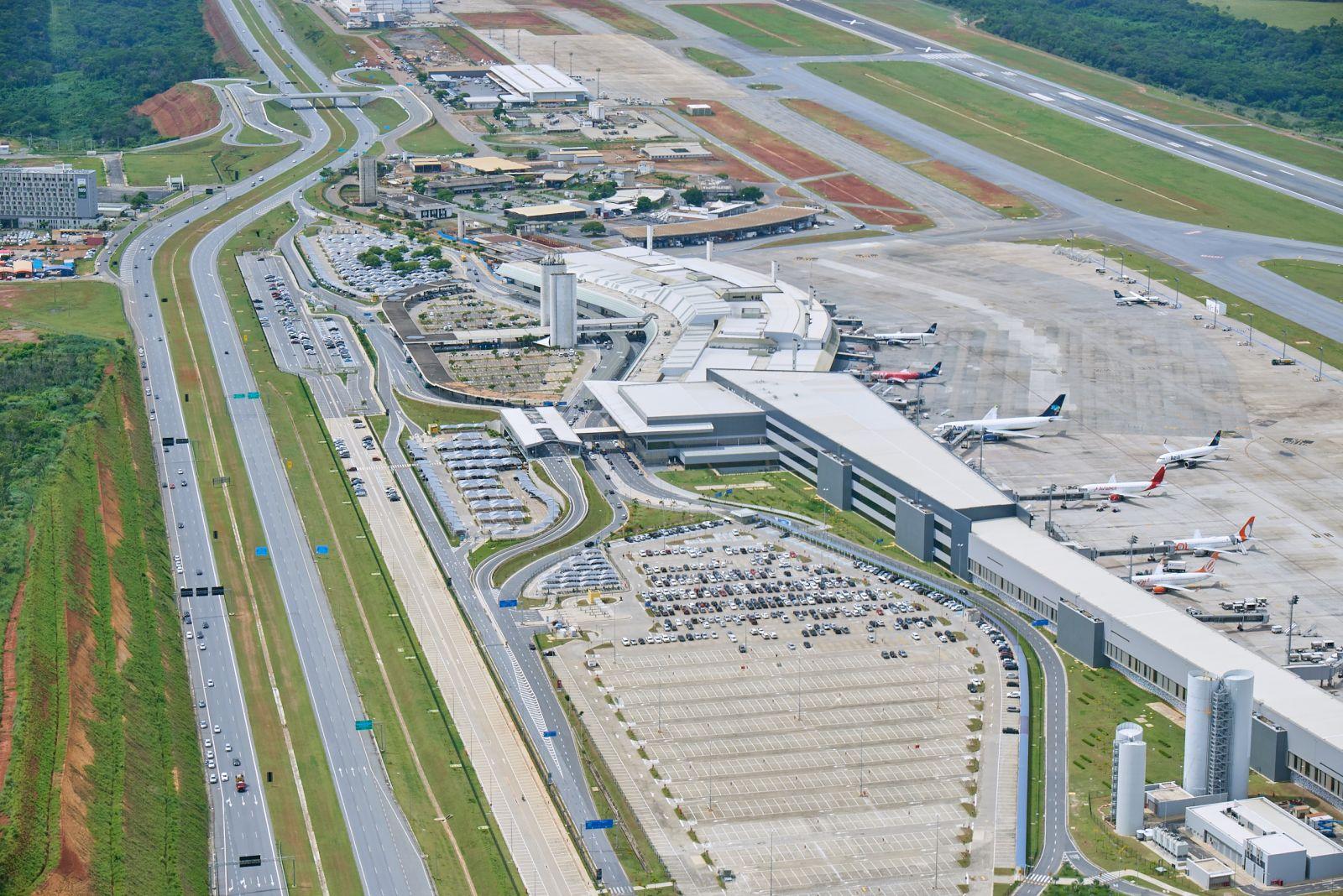 Aeroporto Internacional de BH é o primeiro do país a ser reconhecido por reduzir as emissões de gases de efeito estufa