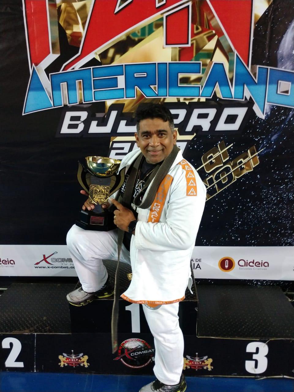 Academia de Lagoa Santa vence mais um título internacional de jiu-jitsu
