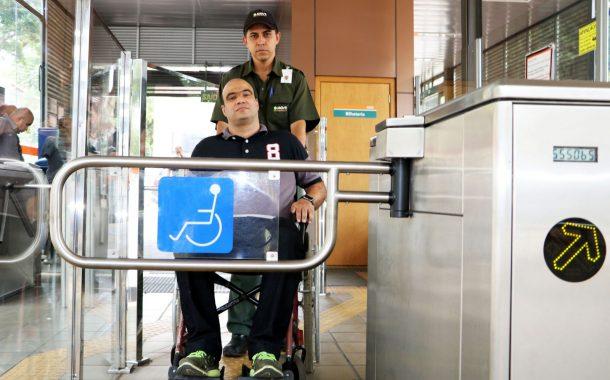 Curso capacita operadores do transporte metropolitano para atender pessoas com deficiência
