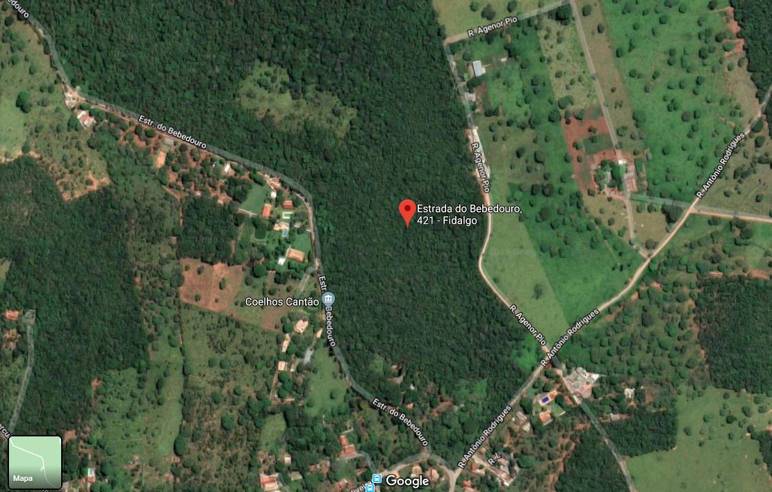Corpo é encontrado no Quinta do Sumidouro