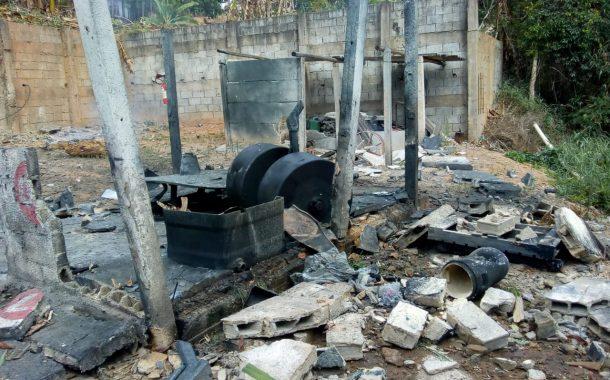 Explosão em Santo Antônio do Monte deixa um morto