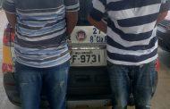 Polícia prende ladrões e recupera produtos roubados
