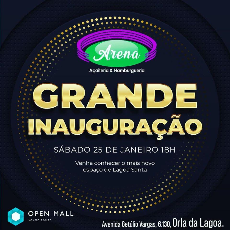 Inauguração Arena Açaiteria e Hamburgueria Lagoa Santa