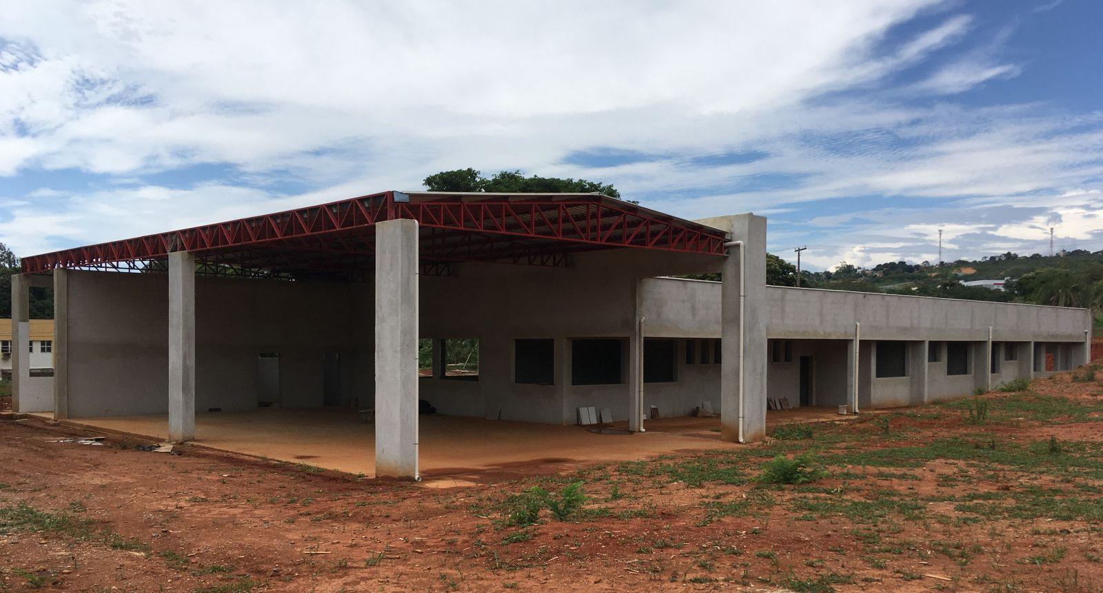 Nova sede dos Bombeiros em Lagoa Santa