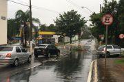 Chuva intensa faz estragos também em Lagoa Santa