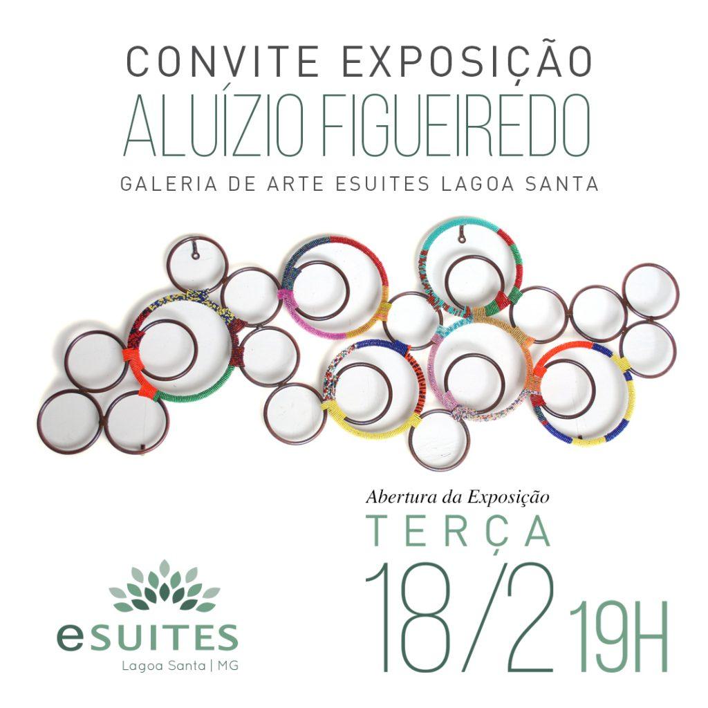 Exposição Aluízio Figueiredo eSuites Lagoa Santa