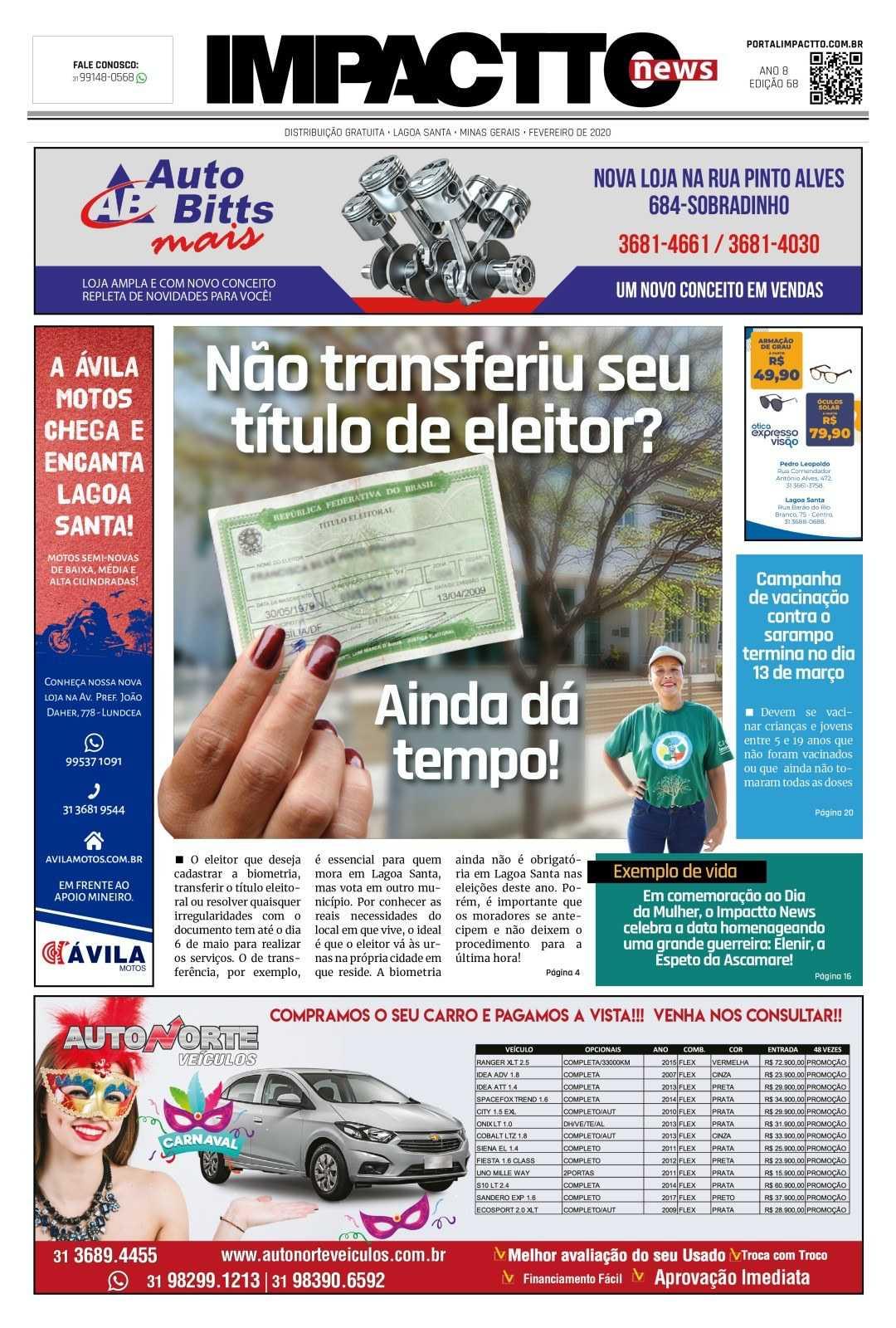 Edição 68 - Jornal Impactto News!