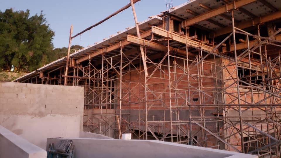 Obras Escola Municipal Dona Marucas